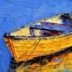 """""""Floating Along - SOLD"""" - Original Fine Art for Sale - © Leslie Saeta"""
