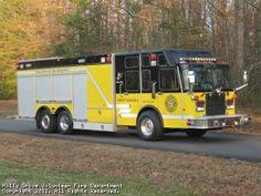 Holly Grove Volunteer Fire Department, Bumpass, VA - Heavy Rescue 4 - 1996 Spartan