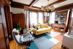 A Small San Francisco Rental Apartment Is Full of Warmth, Wood, and a Splash of Color: gallery image 2