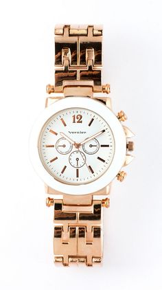 #love Rose gold watch...