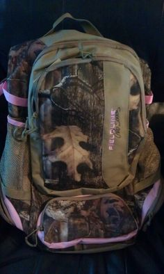 Country girls love their camo! I actually have this backpack :)