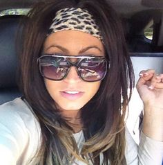 Tracy DiMarco Leopard Headband www.iconclothinginc.com