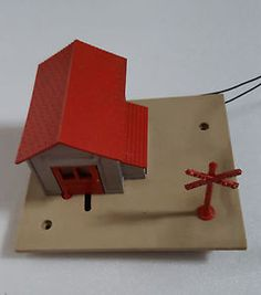 HO Scale Lionel Automatic Gateman with Control Track 0145 Original Box Vintage