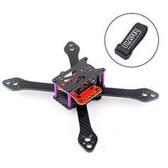 Crazepony Martian â…¢ RX220 QAV220 FPV Racing Drone Frame Carbon Fiber Quadcopter Frame like QAV-R QAV180 QAV250 etc(4MM) * Find out more about the great product at the image link.