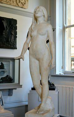 Albert toft | Albert Toft (1862-1949) - Fate-Led (1891) front left, Walker Art ...
