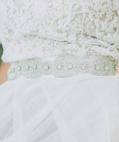 Our super sparkly Lexi Belt! Via Etsy: $250.00 Follow #somethingtreasured @somethingtreasured