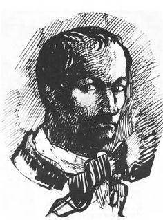 Charles Baudelaire, 1860, Self Portrait