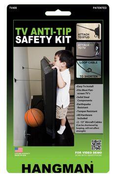 TV Anti-Tip Kit