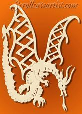 Scroll Saw Patterns :: Mythical - they have the greatest patterns that work in paper media