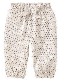 Floral bubble pants