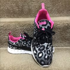 Leopard PUMA Carson Runner ..NWOT Silky Lightweight PUMA Carson Runner Leopard sneakers Sz 11 Puma Shoes Athletic Shoes