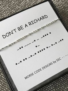Printing Videos Architecture Home Personalized Jewelry, Custom Jewelry, Handmade Jewelry, Morse Code Tattoo, Morse Code Words, Sister In Law Gifts, Morse Code Bracelet, Secret Code, Sculptural Fashion