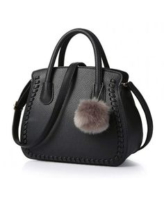 2e4b1e061e Black Texture Structured Handbag Top Handle Women Satchel Crossbody Purse  Bucket Bag - Black - CN12FNABH3L