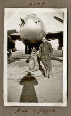 "1945 - ""Yagge"" - A-26 (Plane) - A-78 Belgium Belgium, Wwii, Plane, Air Force, The Unit, Group, Art, Art Background, World War Ii"