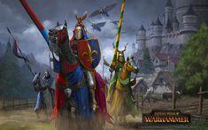 Knights of Bretonnia, Milek Jakubiec on ArtStation at https://www.artstation.com/artwork/wKO0V