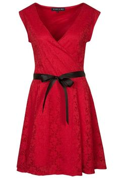 Morgan RORETE - Cocktail dress / Party dress - rouge for Free delivery for orders over Little Red Dress, Dress Red, Casual Outfits, Cute Outfits, Evening Dresses, Summer Dresses, Short Dresses, Formal Dresses, Lovely Dresses