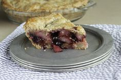 Blueberry Pear Pie with a Healthy Twist