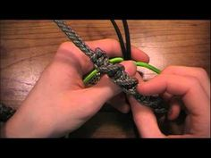 How to make a DNA knot paracord lanyard – Paracord Projects