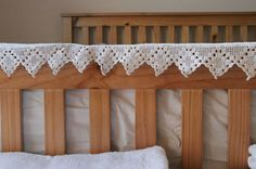 Shaker-style bed