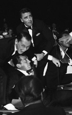 oldmanpeace:  The rat pack being drunk as hell, as...