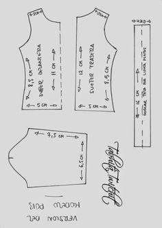 : Patterns of the Pub model for Loli Diy Barbie Clothes, Barbie Clothes Patterns, Sewing Clothes, Doll Patterns, Clothing Patterns, Diy Clothes, Dress Patterns, Barbie And Ken, Barbie Dolls