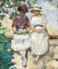 Two Ladies - Henri Lebasque