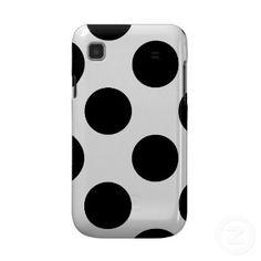 Black & White Polka Dot Cases