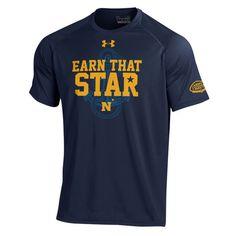 Navy Midshipmen Under Armour 2016 Go Navy Beat Army Performance T-Shirt - Navy - $24.99