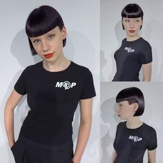 Bowlcuts, Bangs and Bobs. Undercut Hairstyles, Short Hairstyles For Women, Hairstyles With Bangs, Girl Hairstyles, Girl Undercut, Short Hair With Bangs, Short Hair Styles, Natural Hair Styles, Mullet Hairstyle