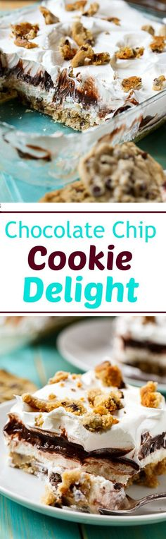 Chocolate Chip Cookie Delight - Spicy Southern Kitchen