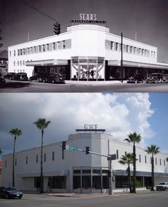 """#TBT How about a """"Then and Now"""" this Thursday? The northeast corner of Broadway and 23rd Street in 1940 and today."""
