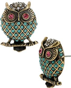 PET SHOP OWL STUDS MULTI   Get paid up to 10.6% Cashback when you shop at Betsey Johnson with your DubLi membership. Not a member? Sign up for FREE at www.downrightdealz.net