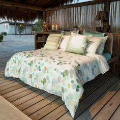 Belle Epoque Home Concept Bubbly Duvet Cover in Multi - BedBathandBeyond.com