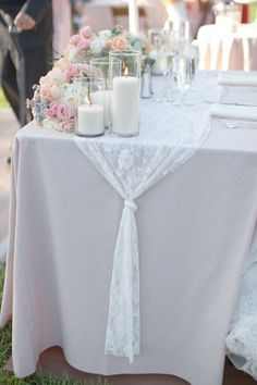 Photography: Lovisa Photo - www.LovisaPhoto.com   Read More on SMP: http://www.stylemepretty.com/california-weddings/2014/02/07/romantic-mint-peach-arboretum-wedding/
