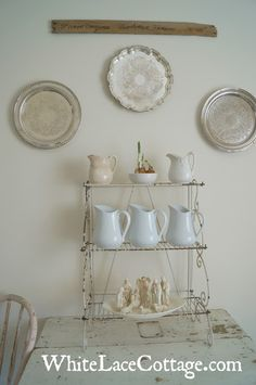 Nordic French Country Cottage Christmas - White Lace Cottage