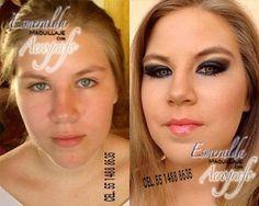 Maquillaje con aerógrafo el antes y el después