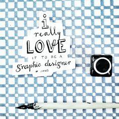 I LOVE MY JOB  #grapgicdesign #handlettering #design #handmade #instagram #art #jansontwerpfabriek Love My Job, Handmade Design, Hand Lettering, Instagram, Art, Art Background, Handwriting, Kunst, Calligraphy