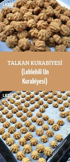 Talkan Kurabiyesi (Leblebili Un Kurabiyesi) No Flour Cookies, Cake Cookies, Turkish Recipes, Diet And Nutrition, Food Presentation, Food Preparation, Beautiful Cakes, Waffles, Food And Drink