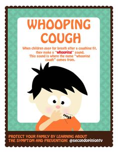 Pertussis (whooping cough) can cause serious illness in infants, children and adults. The disease usually starts with cold-like symptoms and maybe a mild cough or fever.