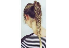 Braided Hairstyles: Pinterest Inspiration For Dressing Up a Ponytail | StyleCaster
