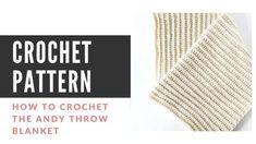How to Change Yarn in Crochet - Easy Crochet Picot Crochet, Crochet Ripple Blanket, Quick Crochet, Basic Crochet Stitches, Crochet Basics, Free Crochet, Chevron Blanket, Simple Crochet, Beginner Crochet