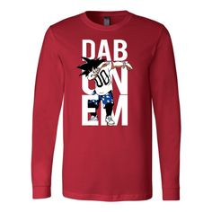 Super Saiyan Goku Dab Long Sleeve T shirt - TL00495LS