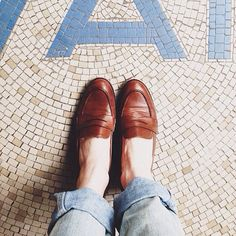 Can't go wrong with a good penny loafer. Sharing an ode to my favorite shoe on www.witanddelight.com today.