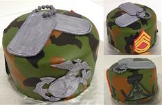 Marine Corps Cake by Four The Love Of Cupcakes, via Flickr