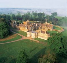 Rockingham Castle is a former royal castle and hunting lodge located near Market Harborough, Leicestershire.