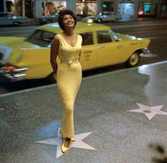 Nancy Wilson on Hollywood Boulevard in 1963