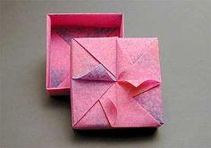 Origami Box - Origami Swirl