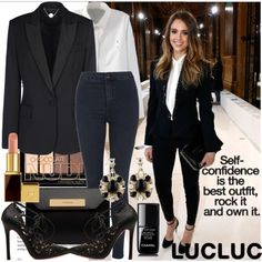 How To Wear Suit up by Jessica Outfit Idea 2017 - Fashion Trends Ready To Wear For Plus Size, Curvy Women Over 20, 30, 40, 50