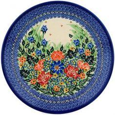 Polish Pottery #U2539 Ceramika Artystyczna, Boleslawiec Pattern P5184A Pottery Plates, Pottery Making, Polish Pottery, Glass Ceramic, Stoneware, Tea Pots, Ceramics, Tableware, Pottery Patterns
