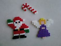 Christmas Perler Beads by Jasmine